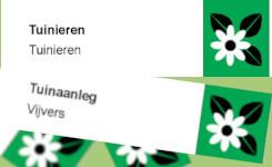 Tuinboek etiket